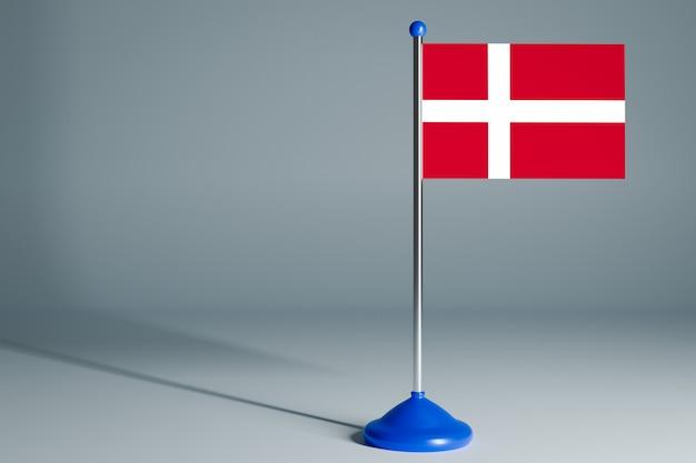 Pusta flaga stołu, odpowiednia do projektowania,