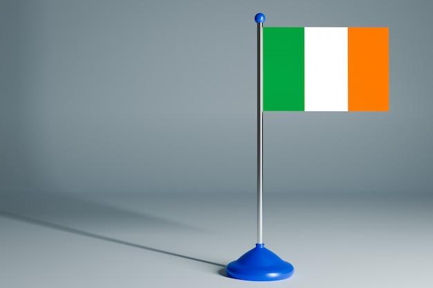 Pusta flaga stołu, odpowiednia do projektowania