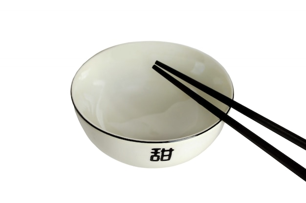 Pusta miska na azjatyckie jedzenie