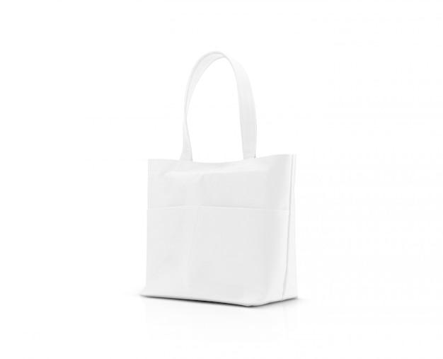Pusta płócienna torba na zakupy z tkaniny, aby zaoszczędzić globalne ocieplenie