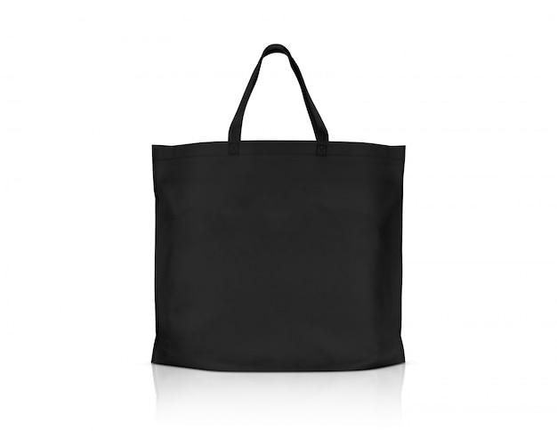 Pusta płócienna torba na zakupy z tkaniny do oszczędzania globalnego ocieplenia