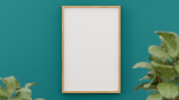 Pusta ramka na zdjęcie i plakat.