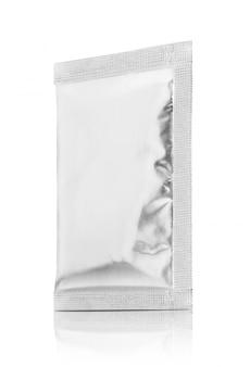 Pusta saszetka z folii aluminiowej do pakowania produktu