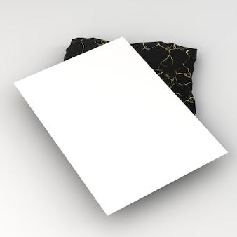 Pusta ulotka papiernicza firmy