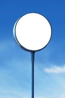 Puste koło znak pokładzie