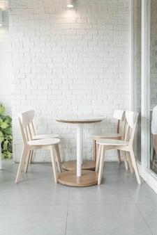 Puste krzesło w restauracji