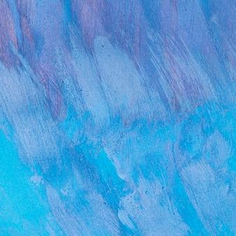 Puste monochromatyczne niebieskie tło malowane