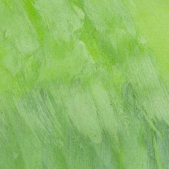 Puste monochromatyczne zielone tło malowane