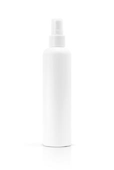 Puste opakowanie spray kosmetyczny na białym tle