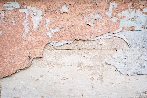 Puste różowe ściany betonowe tekstura tło