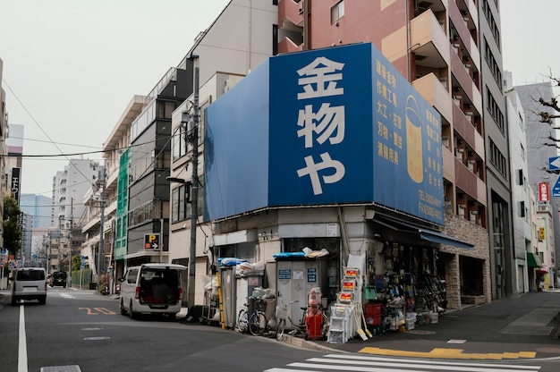 Puste ulice w japonii
