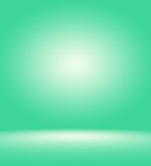 Puste zielone studio dobrze służy jako tłoszablon strony internetowej