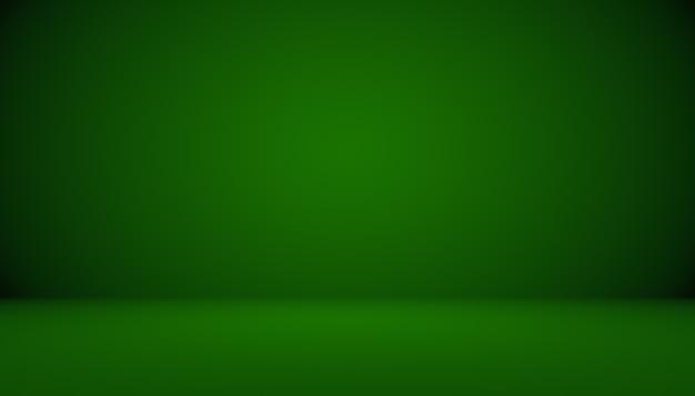 Puste zielone studio dobrze służy jako tłoszablon strony internetowejramaraport biznesowy
