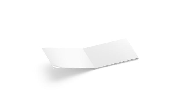 Pusty biały otworzył album w formacie a5