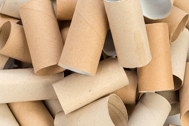 Pusty papier toaletowy
