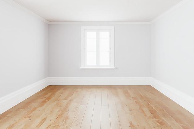 Pusty prosty wnętrze pokoju tło