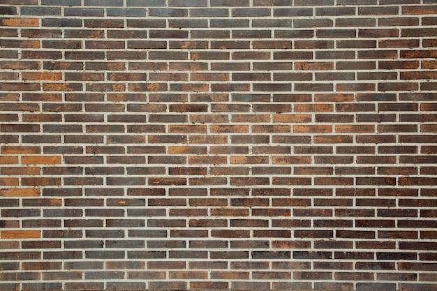 Pusty stary ceglany mur tekstura tło vintage wystrój wnętrz.