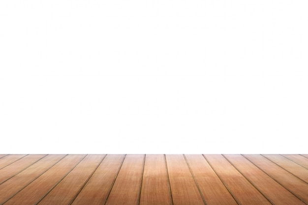 Pusty stół z drewna, może służyć do wyświetlania lub montażu twoich produktów