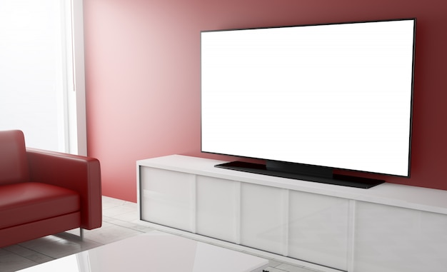 Pusty telewizor