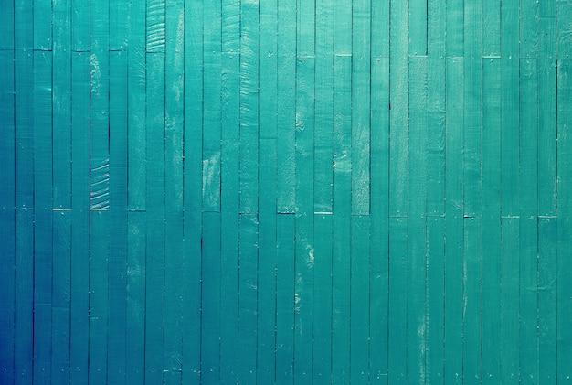 Pusty vintage niebieski kolor tła tekstury drewnianego panelu