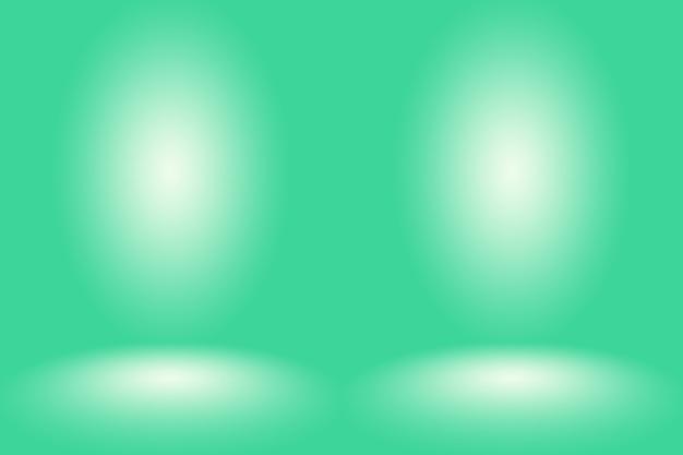 Pusty zielony studio dobrze wykorzystać jako tło, szablon strony internetowej, ramkę, raport biznesowy.
