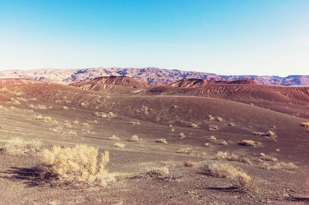 Pustynne krajobrazy w stanie nevada, usa
