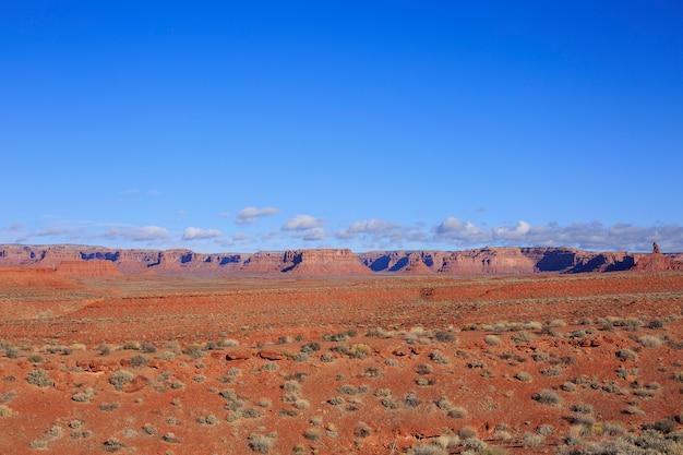 Pustynny krajobraz na wiosnę, utah, usa.