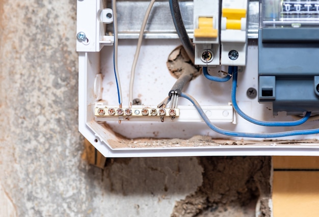Puszka do podłączenia przewodów elektrycznych w domu