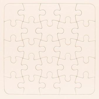 Puzzle makieta