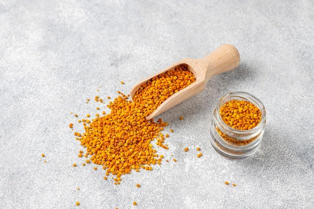 Pyłek pszczeli żywności medycyny.