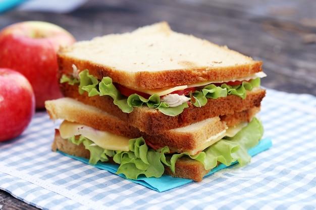 Pyszna kanapka