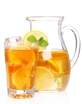 Pyszna mrożona herbata