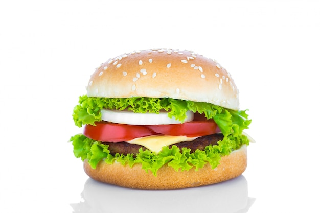 Pyszne cheeseburger