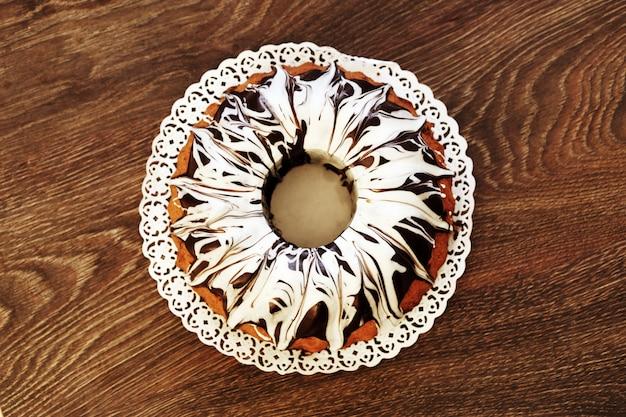 Pyszne ciasto z czekoladą