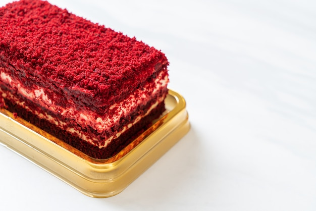 Pyszne ciasto z czerwonego aksamitu