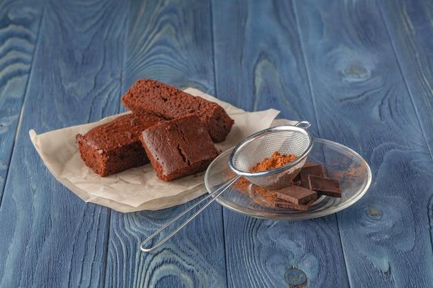 Pyszne czekoladowe ciasteczka