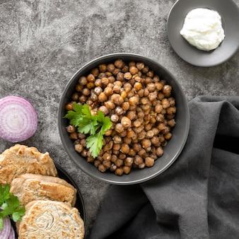 Pyszne jedzenie koncepcja lohri day