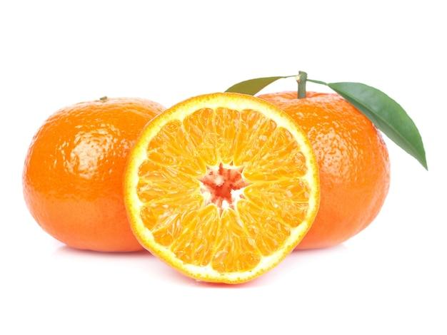 Pyszne świeże pomarańcze