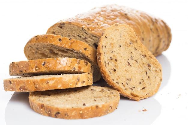 Pyszny chleb z dobrej pszenicy