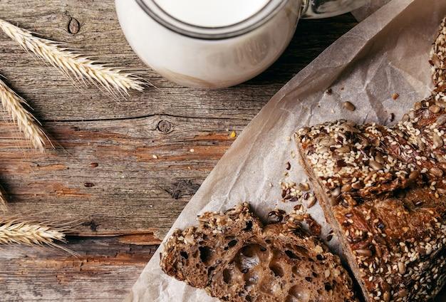 Pyszny chleb z mlekiem