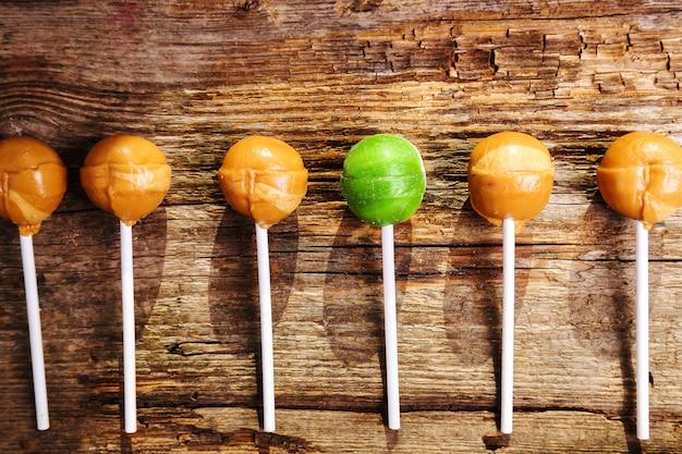 Pyszny lollipop