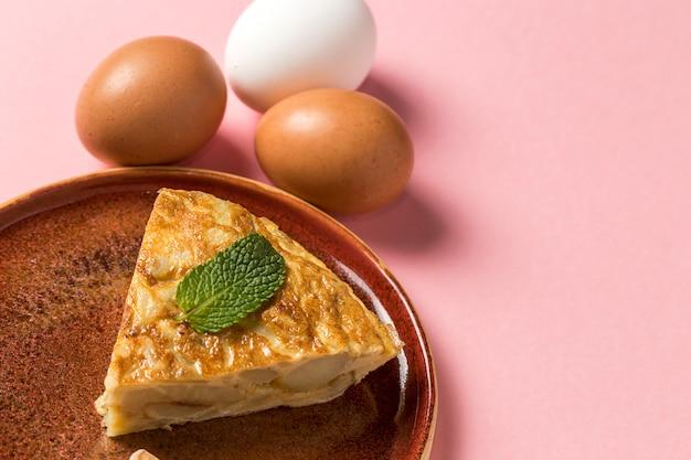 Pyszny omlet ziemniaczany