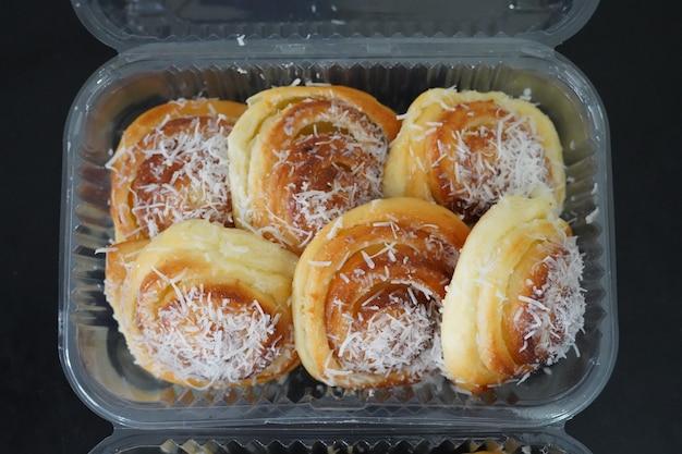 Pyszny orzech kokosowy pieczony węgierski chleb brazylijski