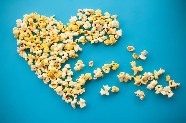 Pyszny popcorn.
