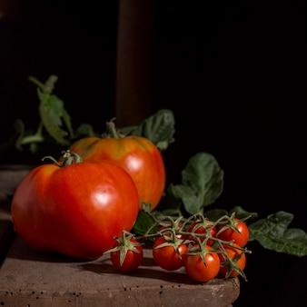 Pyszny układ pomidorów