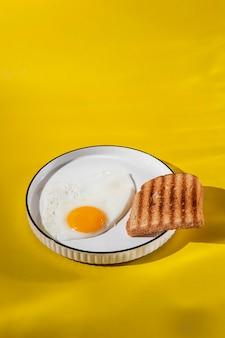 Pyszny układ posiłków śniadaniowych