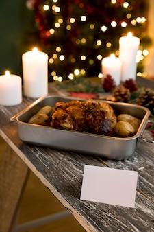 Pyszny zestaw świątecznych potraw
