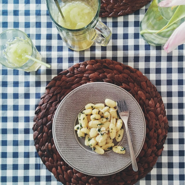Pyzy ziemniaczane z parmezanem
