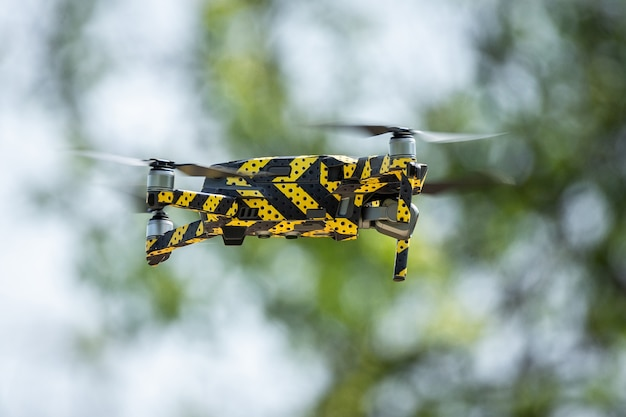 Quadkoptera drona