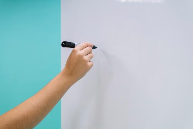 R? ka gotowa do pisania na tablicy